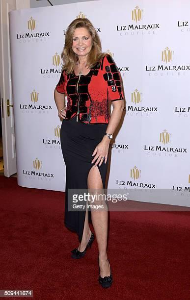Maren Gilzer attends Liz Malraux Fashion Show at Hotel Atlantic on February 10 2016 in Hamburg Germany