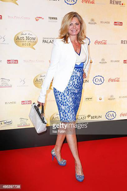 Maren Gilzer attends the 1st Act Now Jugend Award at Friedrichstadt-Palast on November 2, 2015 in Berlin, Germany.