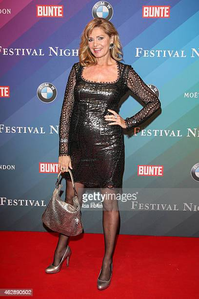 Maren Gilzer attends the Bunte BMW Festival Night 2015 on February 06 2015 in Berlin Germany