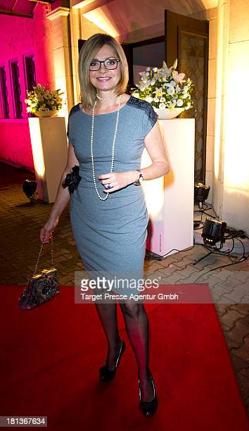 Maren Gilzer attends the 'Fest der Eleganz und Intelligenz' at Villa Siemens on September 20 2013 in Berlin Germany