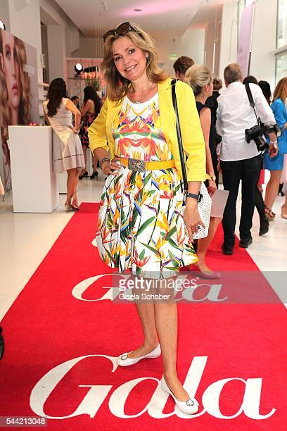 Maren Gilzer attends the 'Gala' fashion brunch during the MercedesBenz Fashion Week Berlin Spring/Summer 2017 at Ellington Hotel on July 1 2016 in...