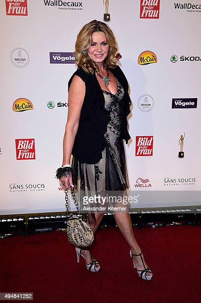 Maren Gilzer attends the 'Goldene Bild Der Frau' Award 2015 at Stage Operettenhaus on October 29 2015 in Hamburg Germany
