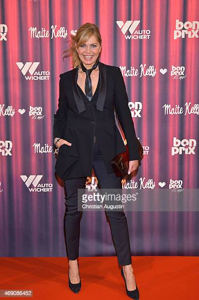 Maren Gilzer attends the 'Maite Kelly & bonprix' Spring/Summer 2015 Collection Presentation at Auto-Wichert-Welt on April 9, 2015 in Hamburg, Germany.