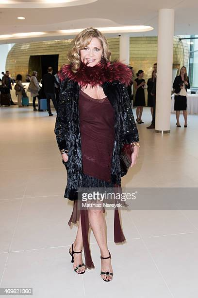 Maren Gilzer attends the Victress Awards Gala 2015 at Andel's Hotel on April 13, 2015 in Berlin, Germany.