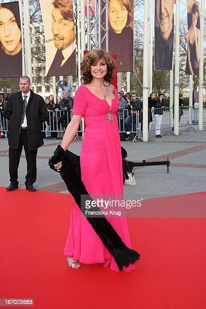 Maren Gilzer Bei Der Ankunft Zum Deutschen Filmpreis 2008 Lola Im Palais Am Funkturm In Berlin