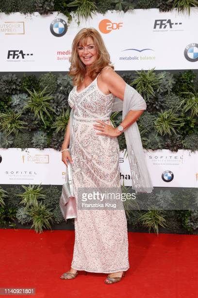 Maren Gilzer during the Lola - German Film Award red carpet at Palais am Funkturm on May 3, 2019 in Berlin, Germany.