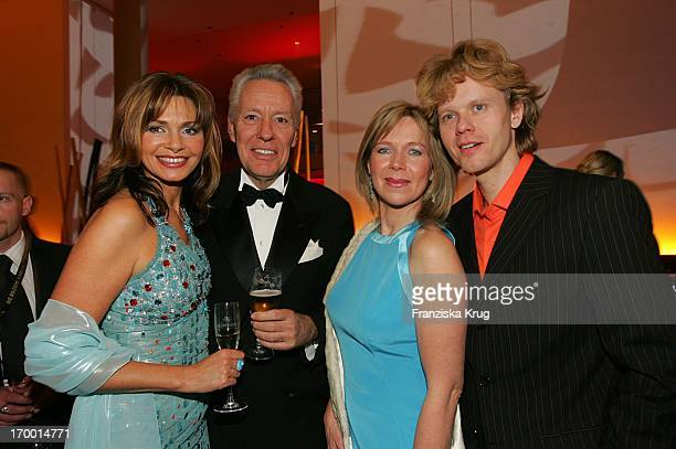 Maren Gilzer Egon F Freiheit Marion Kracht and friend Berthold at The After Show Party The 40th The award Golden Camera Am In The Ullsteinhalle Of...