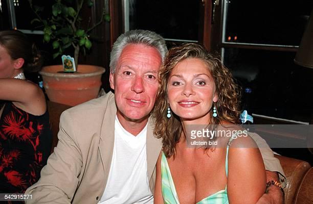Maren Gilzer Schauspielerin BRD mit ihrem Lebensgefährten Egon F Freiheit Medienberater
