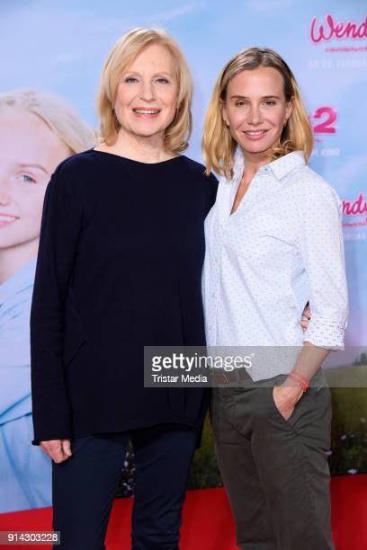 Maren Kroymann, Nadeshda Brennicke during the premiere of 'Wendy 2 - Freundschaft fuer immer' at Cinedom on February 4, 2018 in Cologne, Germany.