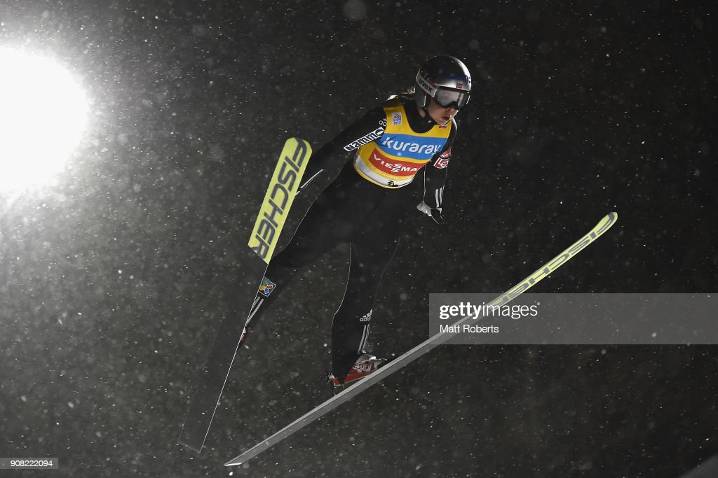 FIS Ski Jumping Women's World Cup Zao - Day 4