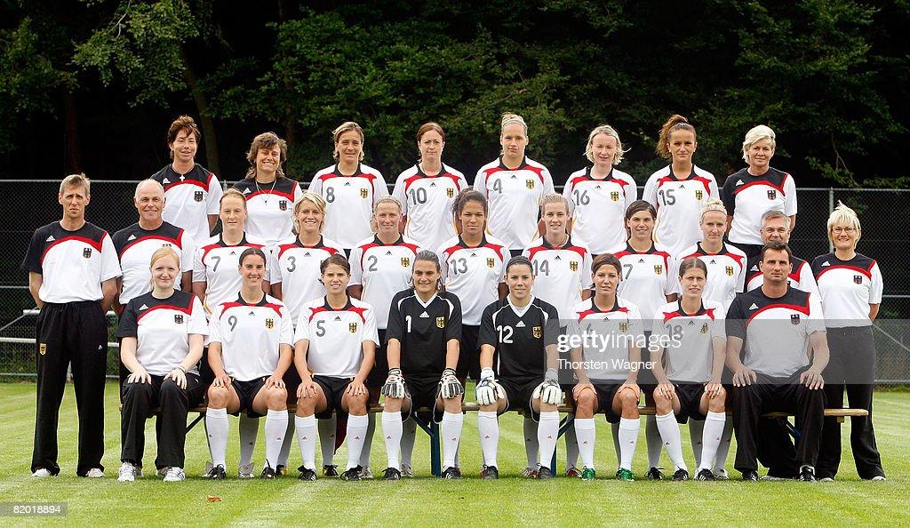 German National Team - Women's Team Presentation : News Photo