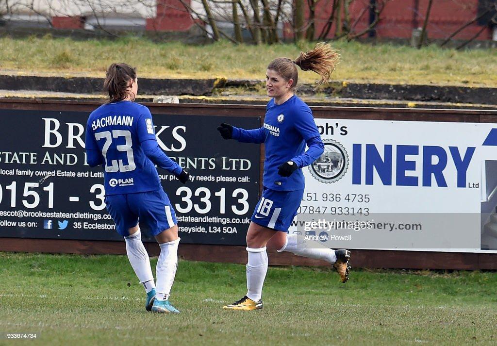 Liverpool Ladies v Chelsea Ladies: The SSE Women's FA Cup Quarter Final : News Photo