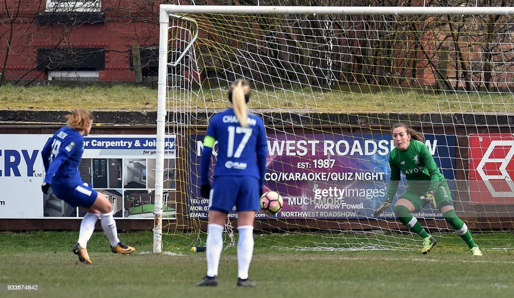 Liverpool Ladies v Chelsea Ladies: The SSE Women's FA Cup Quarter Final : News Photo