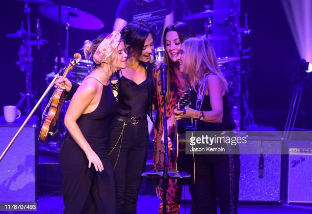 Maren Morris Amanda Shires Natalie Hemby and Sheryl Crow perform at the Ryman Auditorium on September 23 2019 in Nashville Tennessee