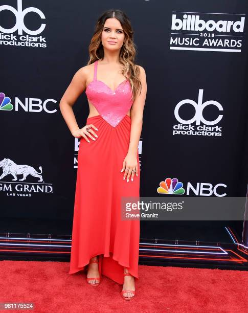 Maren Morris arrives at the 2018 Billboard Music Awards at MGM Grand Garden Arena on May 20 2018 in Las Vegas Nevada