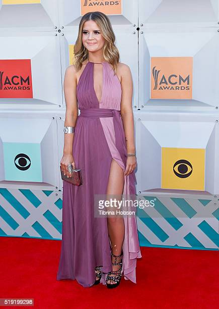 Maren Morris attends the 51st Academy of Country Music Awards at MGM Grand Garden Arena on April 3 2016 in Las Vegas Nevada