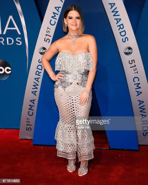 Maren Morris attends the 51st annual CMA Awards at the Bridgestone Arena on November 8 2017 in Nashville Tennessee