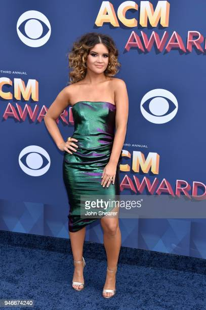 Maren Morris attends the 53rd Academy of Country Music Awards at MGM Grand Garden Arena on April 15 2018 in Las Vegas Nevada