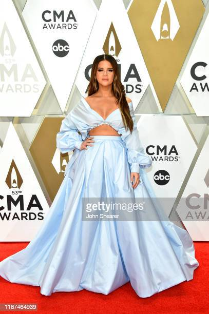 Maren Morris attends the 53rd annual CMA Awards at the Music City Center on November 13 2019 in Nashville Tennessee