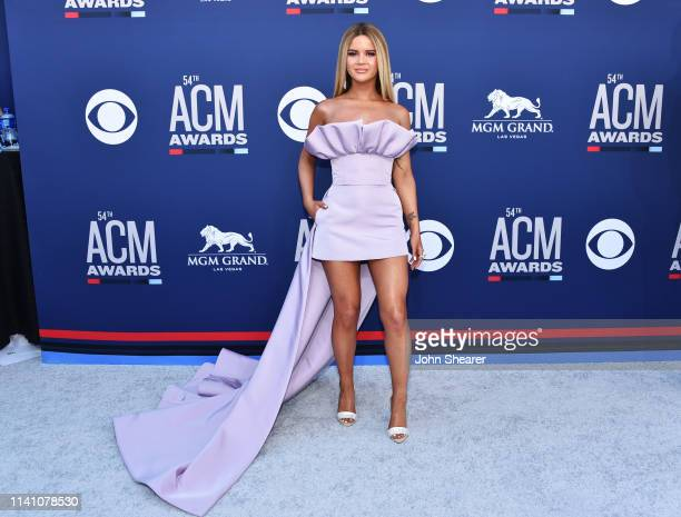 Maren Morris attends the 54th Academy Of Country Music Awards at MGM Grand Hotel & Casino on April 07, 2019 in Las Vegas, Nevada.