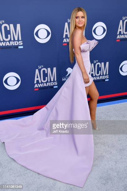 Maren Morris attends the 54th Academy Of Country Music Awards at MGM Grand Hotel Casino on April 07 2019 in Las Vegas Nevada