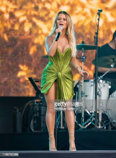 Maren Morris is seen at 'Jimmy Kimmel Live' on September 19 2019 in Los Angeles California