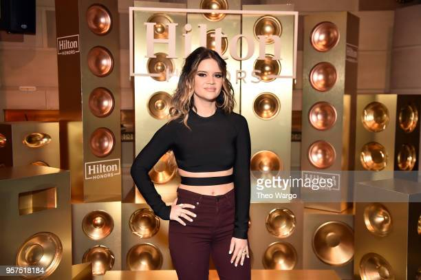 Maren Morris is seen backsage prior to performing exclusively for Hilton Honors members at Gotham Hall on May 11 2018 in New York City