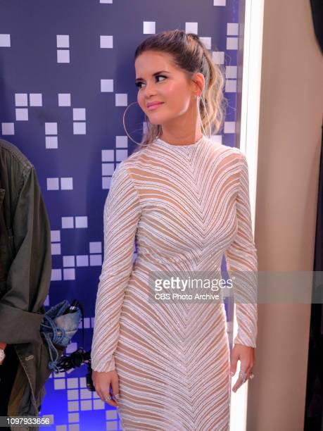 Maren Morris is seen backstage at THE 61ST ANNUAL GRAMMY AWARDS broadcast live from the STAPLES Center in Los Angeles Sunday Feb 10 on the CBS...