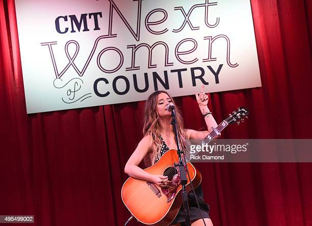 Maren Morris performs at 2015 'Next Women of Country' Event at City Winery Nashville on November 3 2015 in Nashville Tennessee