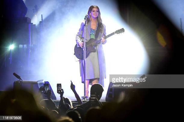Maren Morris performs at Ascend Amphitheater on October 18 2019 in Nashville Tennessee