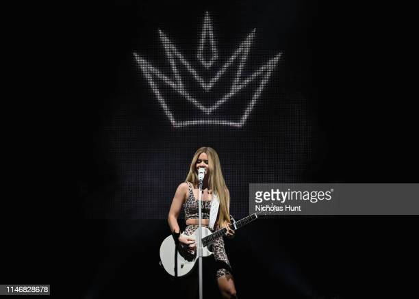 "Maren Morris performs at her ""GIRL The World Tour"" at Brooklyn Steel on May 03 2019 in the Brooklyn borough of New York City"