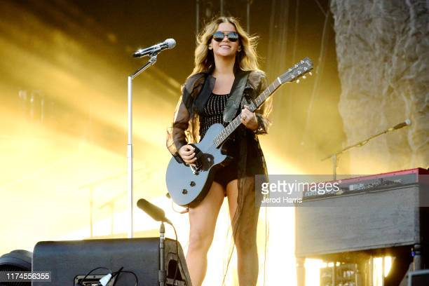 Maren Morris performs at Kaaboo 2019 at the Del Mar Race Track on September 13 2019 in Del Mar California