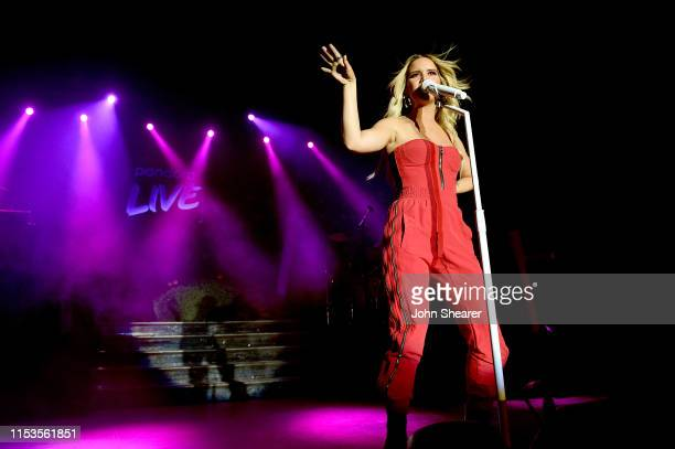 Maren Morris performs on stage for Pandora Live at Marathon Music Works on June 03 2019 in Nashville Tennessee