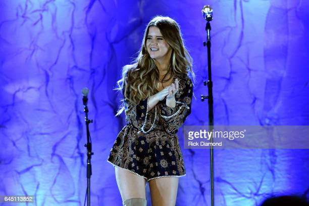 Maren Morris performs onstage at New Faces of Country Music Dinner Performance Sponsored by ACM St Jude Children's Research Hospital   Performances...