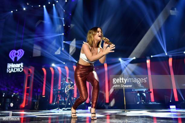 Maren Morris performs onstage during the 2018 iHeartCountry Festival By ATT at The Frank Erwin Center on May 5 2018 in Austin Texas