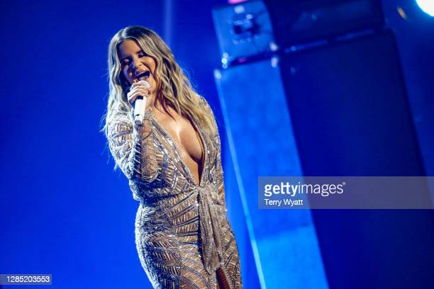 Maren Morris performs onstage during the The 54th Annual CMA Awards at Nashville's Music City Center on Wednesday, November 11, 2020 in Nashville,...