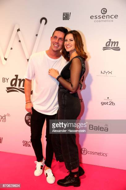 Maren Wolf attends with Tobias Wolf the GLOW The Beauty Convention at Station on November 4 2017 in Berlin Germany