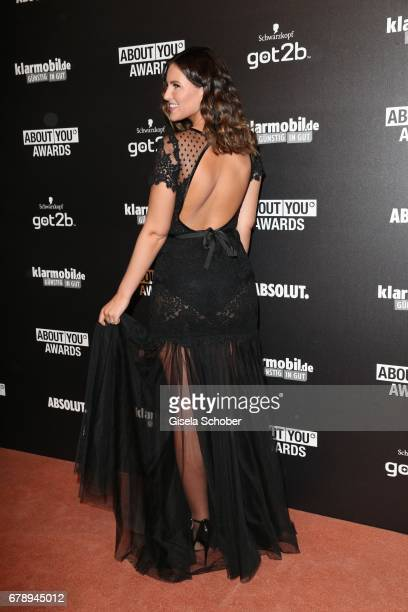 Maren Wolf during the ABOUT YOU AWARDS at the 'Mehr Theater' in Hamburg on May 4 2017 in Hamburg Germany