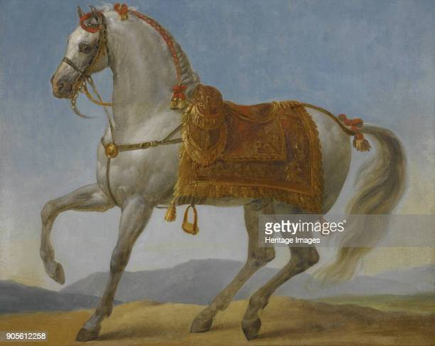 Marengo the horse of Napoleon I of France Private Collection