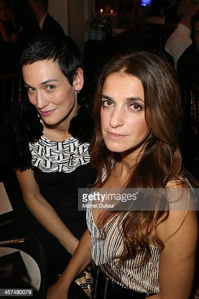 Mareva Galanter and Johnna Preiss attend the Annual Charity Dinner Hosted By The AEM Association Children Of The World For Rwanda on December 17 2013...