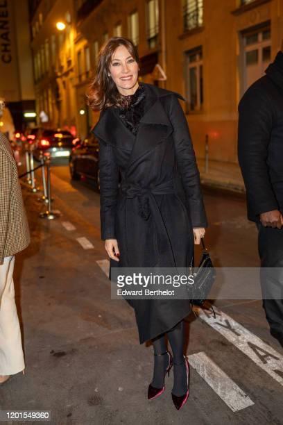 Mareva Galanter arrives at Sidaction Gala Dinner 2020 At Pavillon Cambon on January 23 2020 in Paris France