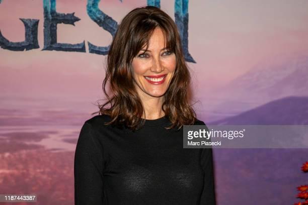 Mareva Galanter attends Frozen 2 Paris Gala Screening at Cinema Le Grand Rex on November 13 2019 in Paris France