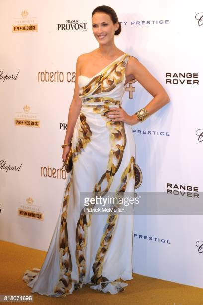 Mareva Galanter attends ROBERTO CAVALLI 40th Anniversary Event CONTACT SIPA PRESS FOR SALES at Les BeauxArts de Paris on September 29 2010 in Paris...
