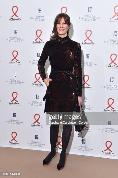 Mareva Galanter attends Sidaction Gala Dinner 2020 At Pavillon Cambon on January 23 2020 in Paris France