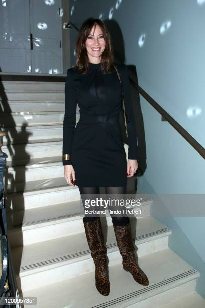 Mareva Galanter attends the Alexis Mabille Haute Couture Spring/Summer 2020 show as part of Paris Fashion Week on January 21 2020 in Paris France