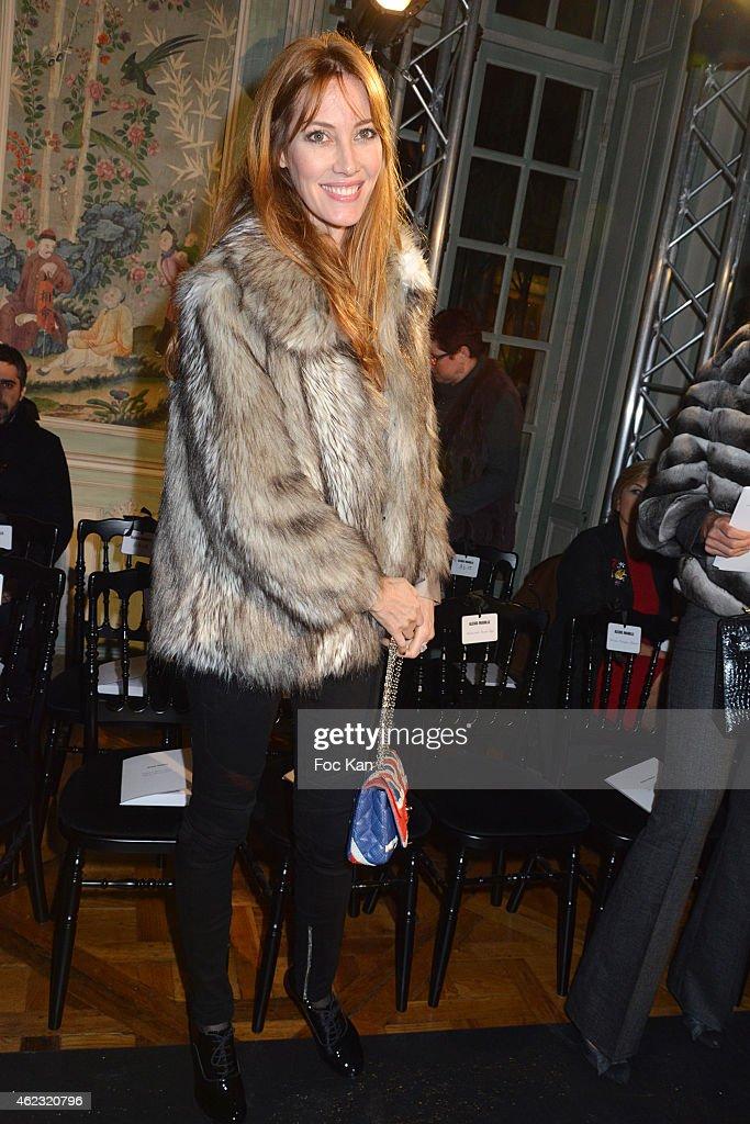 Alexis Mabille: Front Row - Paris Fashion Week - Haute Couture S/S 2015