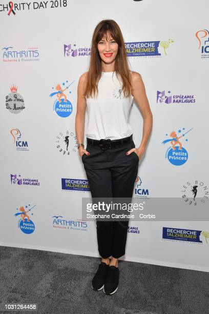 Mareva Galanter attends the Aurel BGC Charity Benefit Day 2018 on September 11 2018 in Paris France