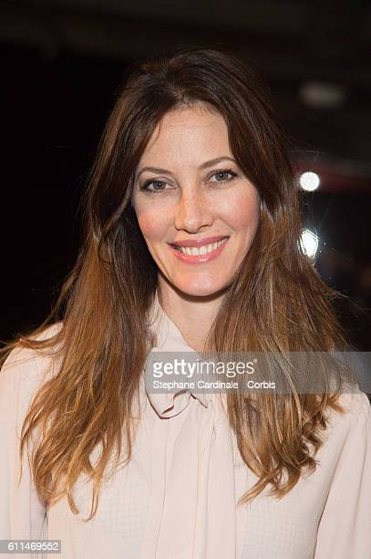 Mareva Galanter attends the Mabille show as part of the Paris Fashion Week Womenswear Spring/Summer 2017on September 29 2016 in Paris France