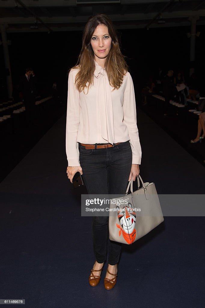Mabille : Front Row - Paris Fashion Week Womenswear Spring/Summer 2017