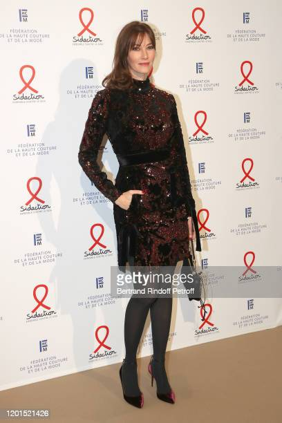Mareva Galanter attends the Sidaction Gala Dinner 2020 at Pavillon Cambon on January 23 2020 in Paris France